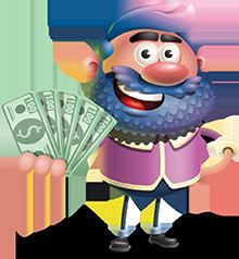 jack with money