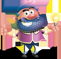 Jack with a light bulb